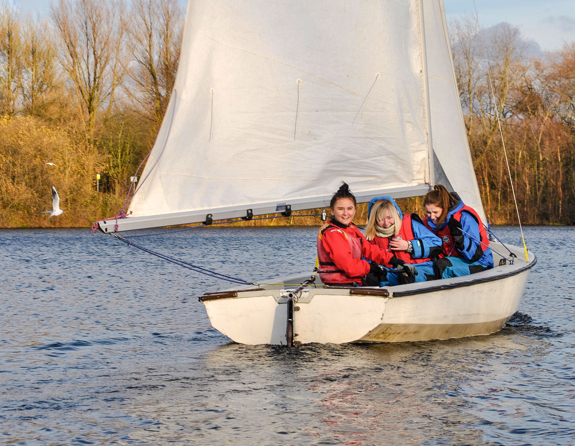 End of term sailing experience at Debdale Outdoor Centre - The PrintCity Blog - Manchester Metropolitan University
