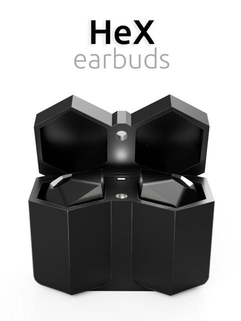 HeX earbuds
