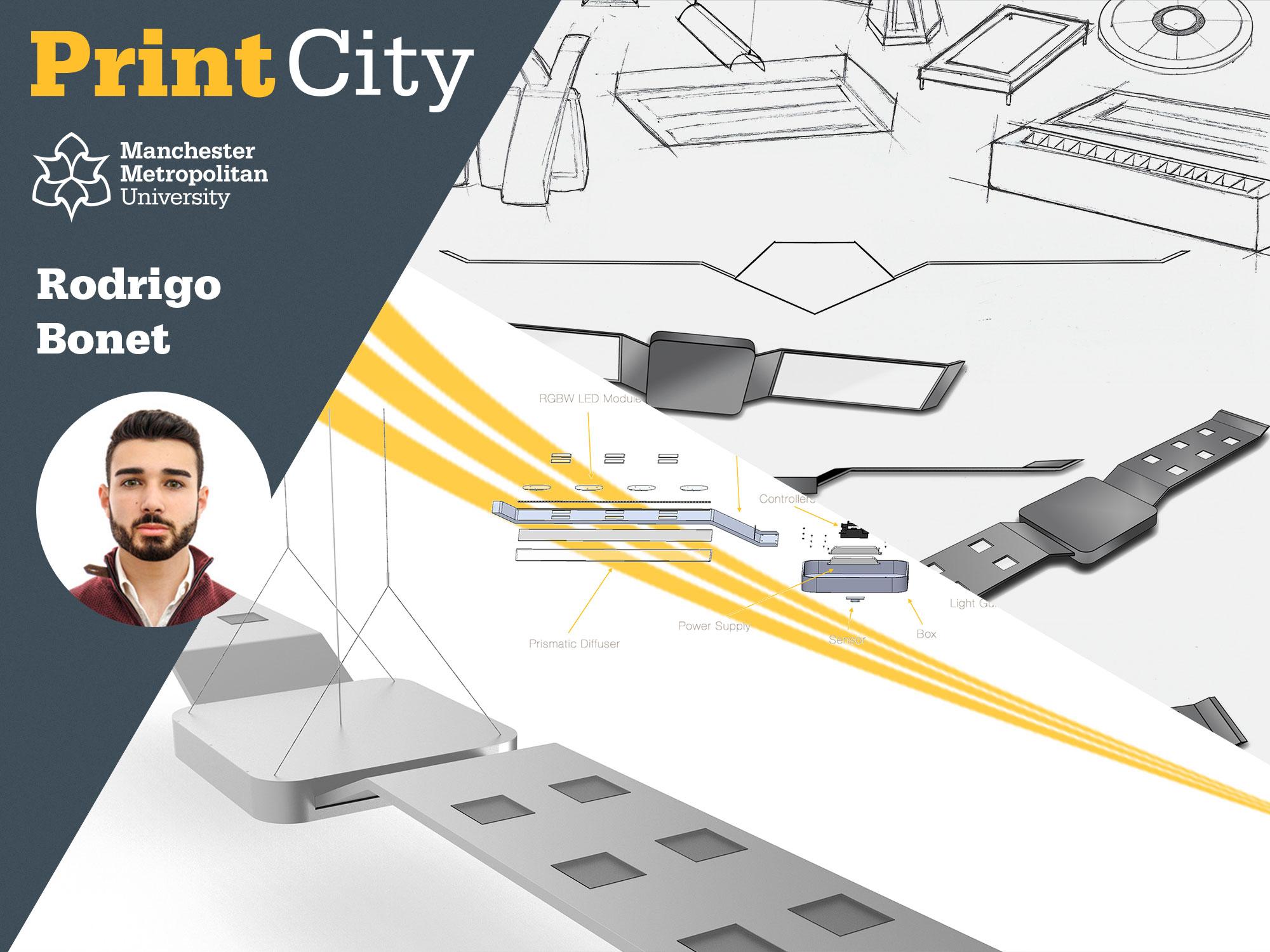 Rodrigo Bonet - Student Profile - PrintCity - Manchester Metropolitan University