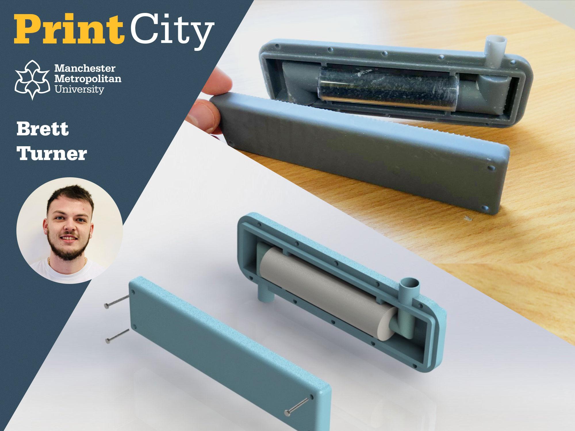 Brett Turner - Student Profile - PrintCity - Manchester Metropolitan University