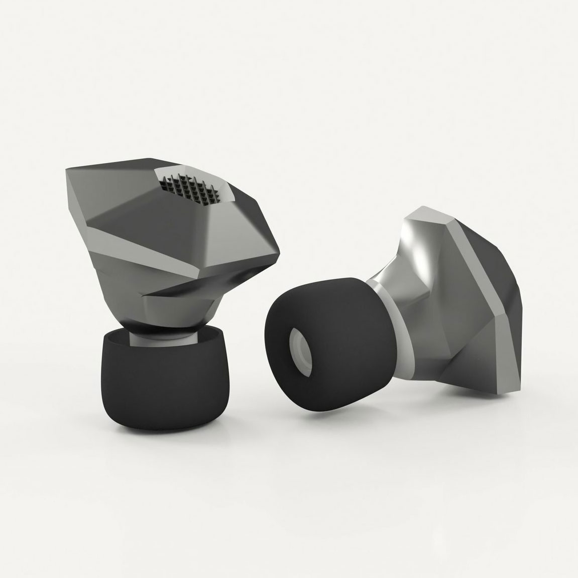 PrintCity Student Elen Parry creates HeX earbuds - socially inclusive hearing aids - Case Study - PrintCity - Manchester Metropolitan University