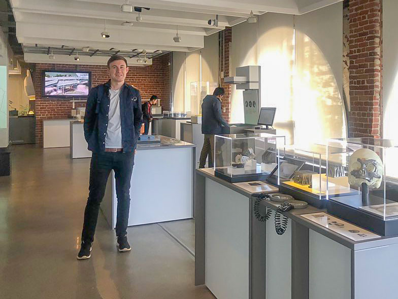 Mark at the Autodesk Gallery in San Francisco
