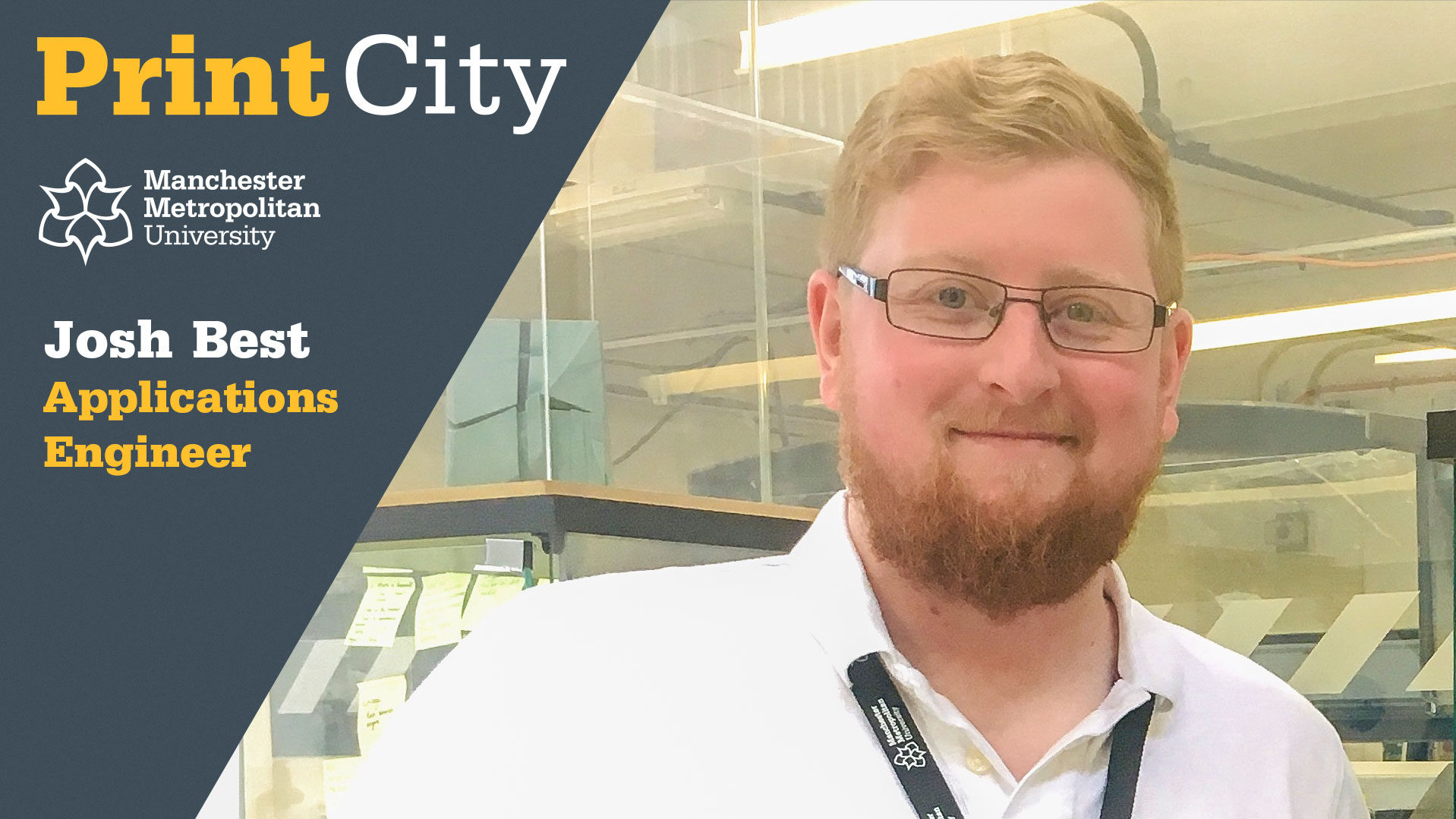 Josh Best - Staff Profile - PrintCity - Manchester Metropolitan University