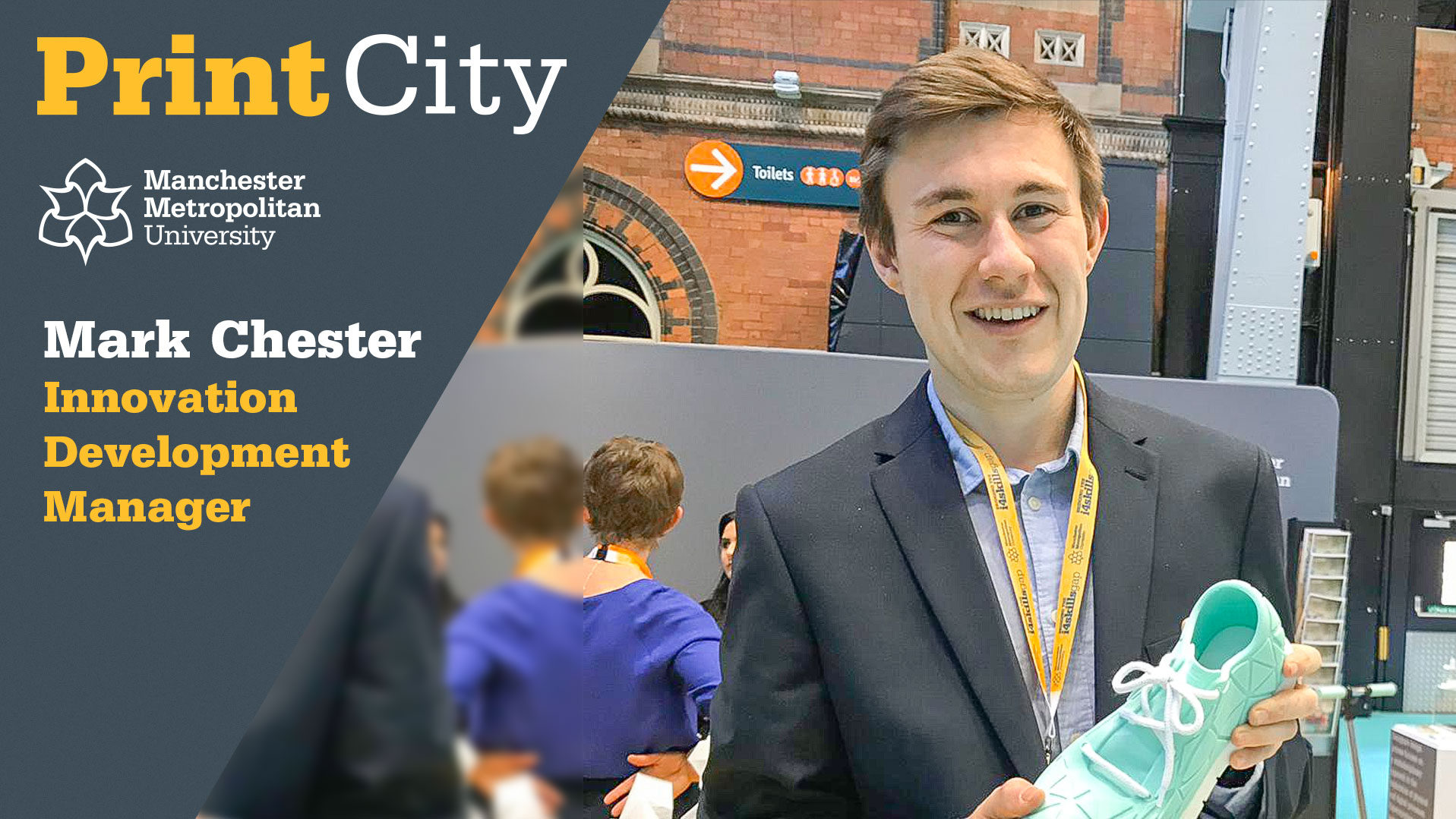 Mark Chester - Staff Profile - PrintCity - Manchester Metropolitan University