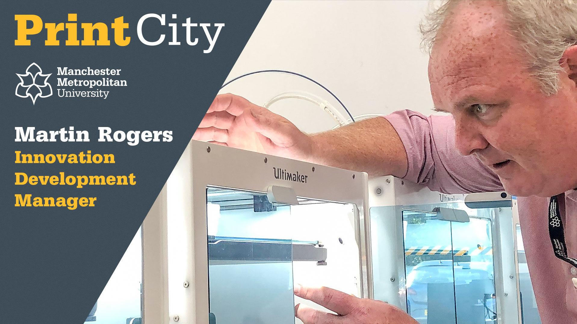 Martin Rogers - Staff Profile - PrintCity - Manchester Metropolitan University